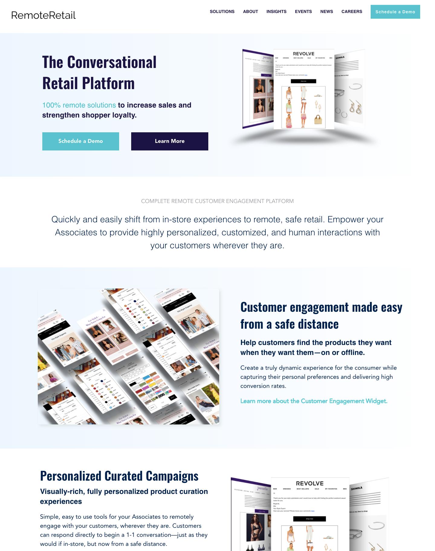 B2B Customer Engagement Platform